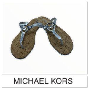 🆕 Michael Kors Silver sandals